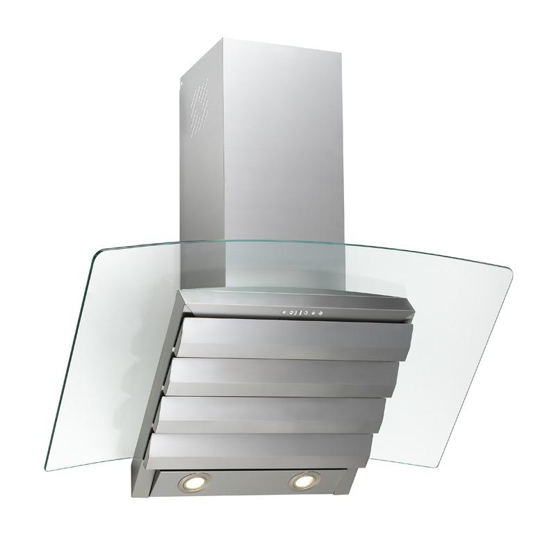 80 cm kopffrei edelstahl dunstabzugshaube elektra randabsaugung pc klar glas ebay. Black Bedroom Furniture Sets. Home Design Ideas